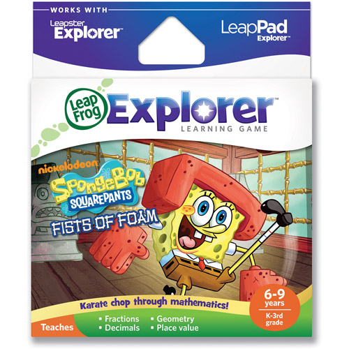 LeapFrog Explorer & LeapPad Learning Game: SpongeBob SquarePants Fists of Foam