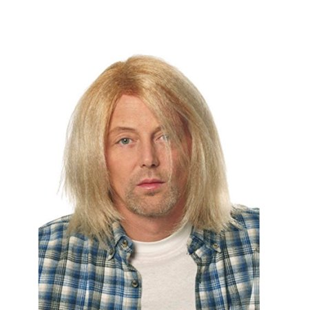 Kurt Cobain Blonde Wig Grunge Nirvana Adult Mens Costume Hair 90's Rocker Music (Blonde Hair Costumes)