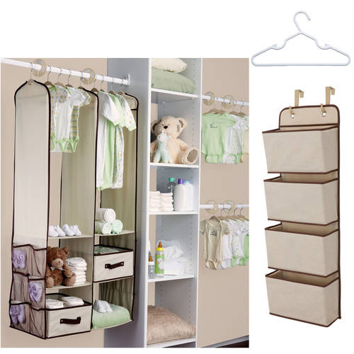 Delta - 24-Piece Nursery Closet Organizing Value Bundle