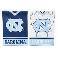 Evergreen Enterprises, Inc NCAA DS Suede Foil Garden Jersey Polyester 1'6 x 1'0.5 ft. Banner (Set of 2)