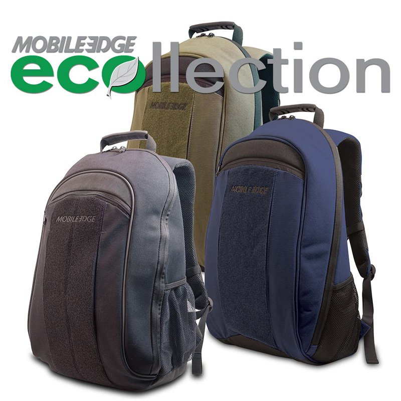 Mobile Edge ECO Laptop Backpack, Olive Green