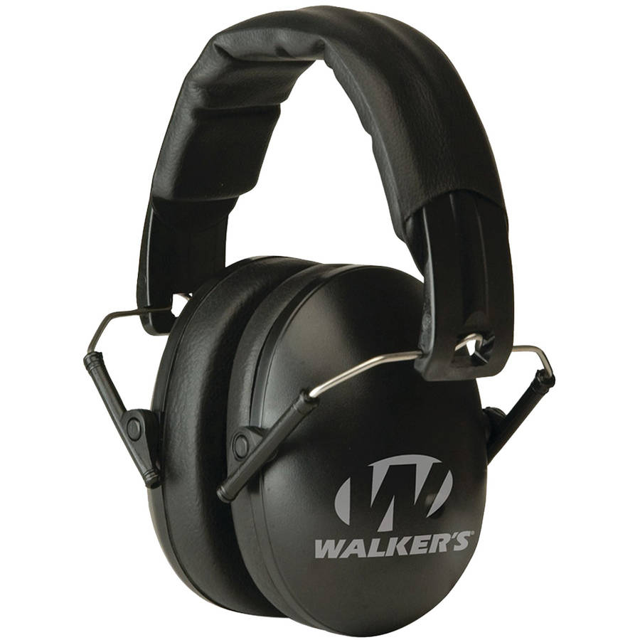 Walker's Game Ear PRO Low-Profile Folding Muff, Mossy Oak Camo