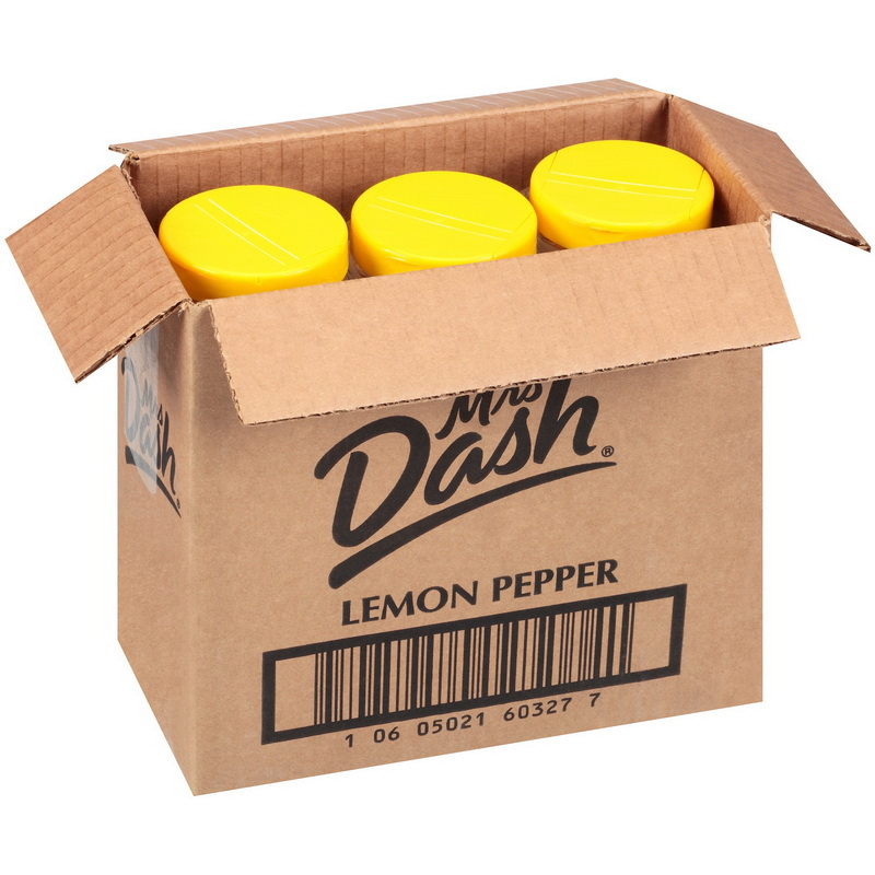 Mrs. Dash J060-S6900 Spices Mrs Dash Lemon Pepper Salt Free No Msg Gluten Free