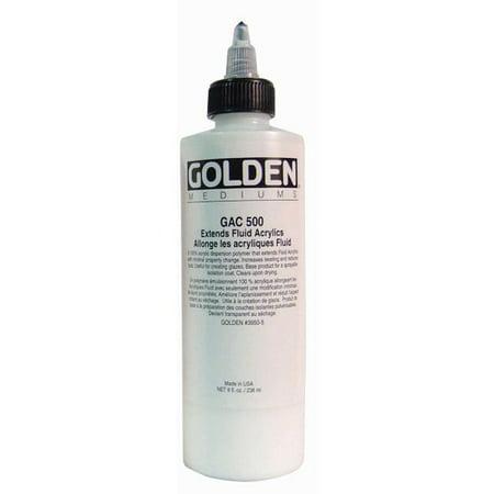 (Golden Artist Colors 8 Oz Acrylic Series Gac 500 Paint Bottle)