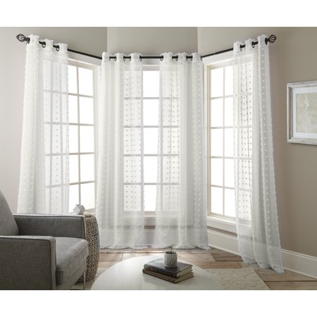 Nanshing Olly Window Curtain Panels Set of 2
