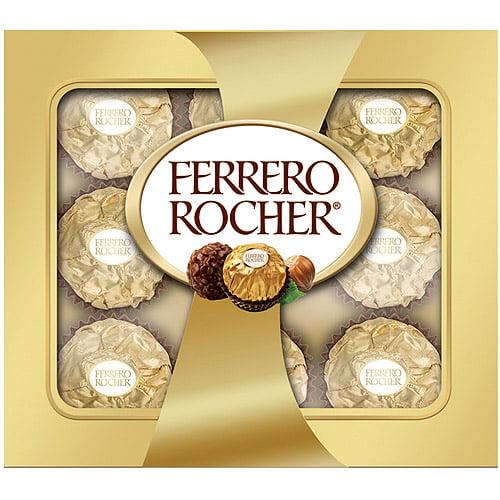 Ferrero Rocher Holiday Gift Box, 4 oz