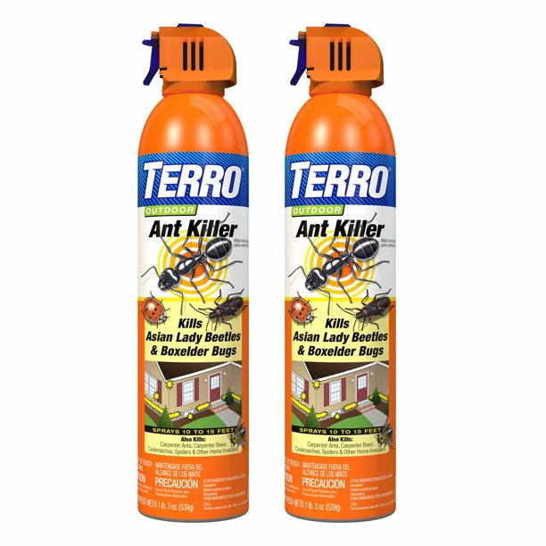 Terro 19 Oz Outdoor Ant Killer Spray 2 Pack Walmart Com Walmart Com