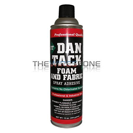 - Dan Tack 2012 Professional Quality Foam & Fabric Spray Adhesive Can 12 oz