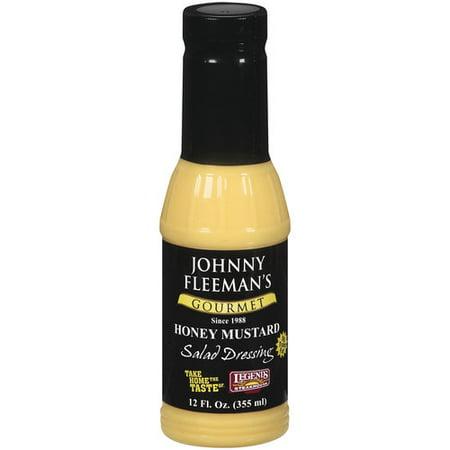 Johnny Fleemans Gourmet Honey Mustard Salad Dressing  12 Oz