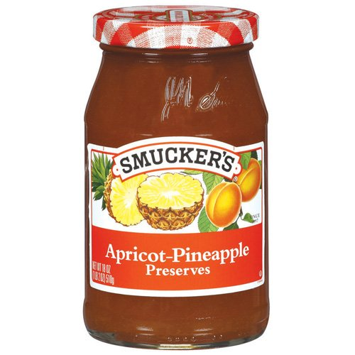 Smuckers Apricot-Pineapple Preserves, 18 oz