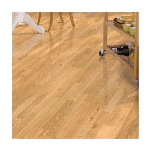Mohawk Flooring Festivalle Plus 8'' x 47'' x 7mm Oak Laminate in Natural Oak
