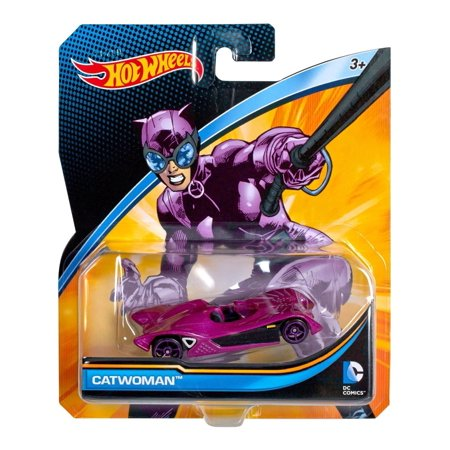 Catwoman Hat (DC Universe Catwoman Vehicle, Brings boys of all ages one of their favorite characters in car form! By Hot)