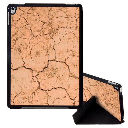 Image Of Cracked Dirt Texture Photograph Apple iPad Pro 9.7 Inch Smart Cover Tablet Case