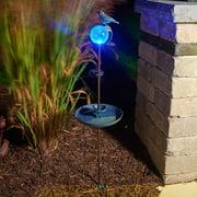 Smart Solar Solar and Lighted Birdbath