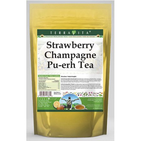 Strawberry Champagne Pu-erh Tea (25 tea bags, ZIN: 538716)