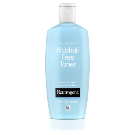Sensitive Skin Toner - Neutrogena Alcohol-Free Facial Toner, Hypoallergenic, 8.5 fl. Oz