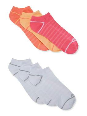 Avia Women's Super Softt No Show Socks, 6-Pack