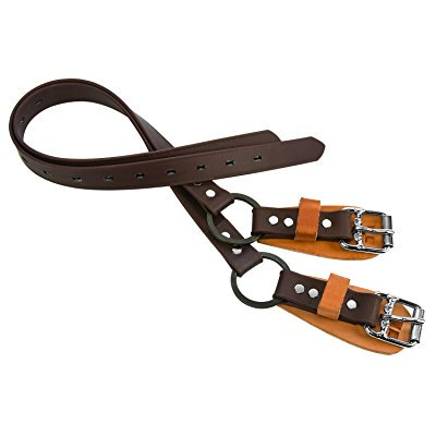 Weaver Leather Split Ring Lower Climber Straps, Yellow, 26