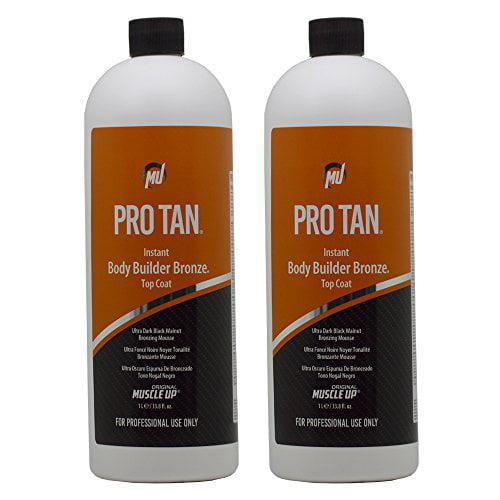 Pro Tan Instant Body Builder Bronze Top Coat Ultra Dark B...