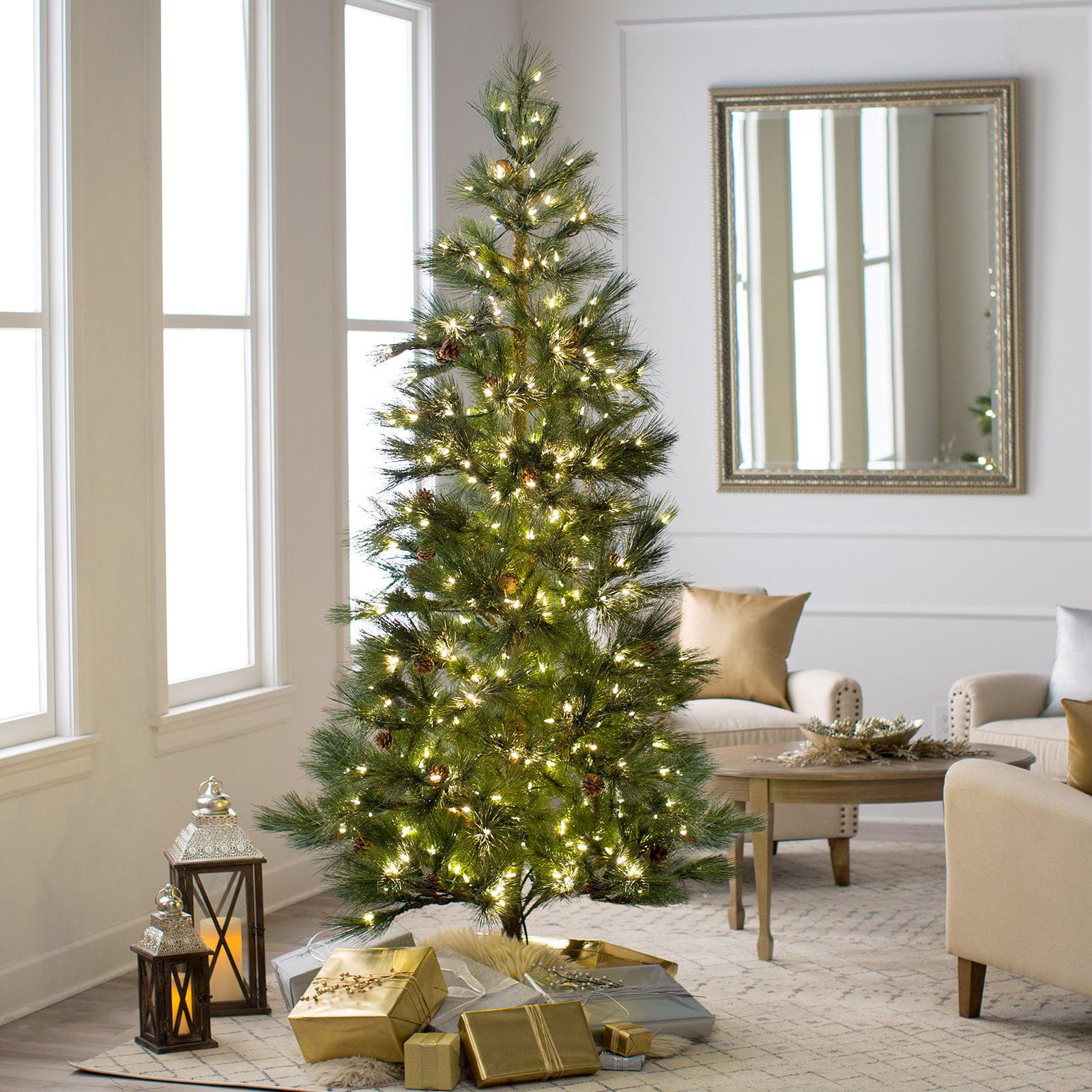 vickerman 7 5 redmond spruce artificial christmas tree with 350