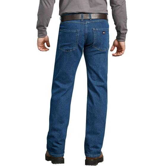 a495aad479ff1f Dickies - Men s Regular Fit Performance Flex 5-Pocket Jean - Walmart.com