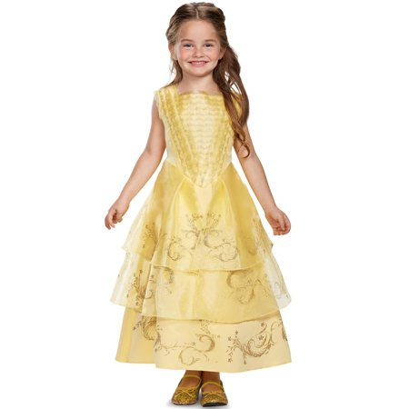 Disney Beauty and the Beast: Belle Ball Gown Deluxe Child Costume](Adult Disney Belle Costume)