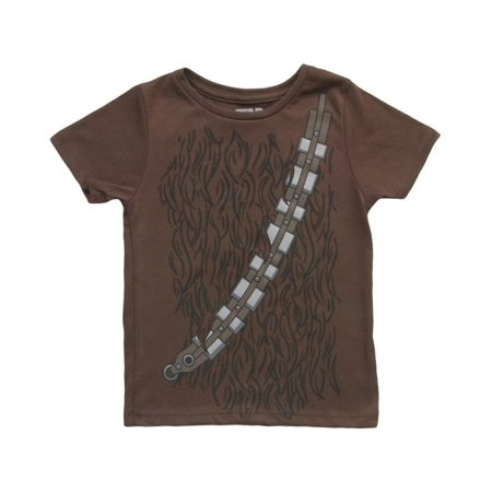Star Wars I Am Chewbacca Toddlers Brown Costume T-Shirt - Chewbacca Jacket