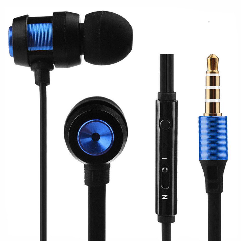 Universal Super Bass Stereo 3.5mm In-Ear Earphone Sport Headset with Microphone