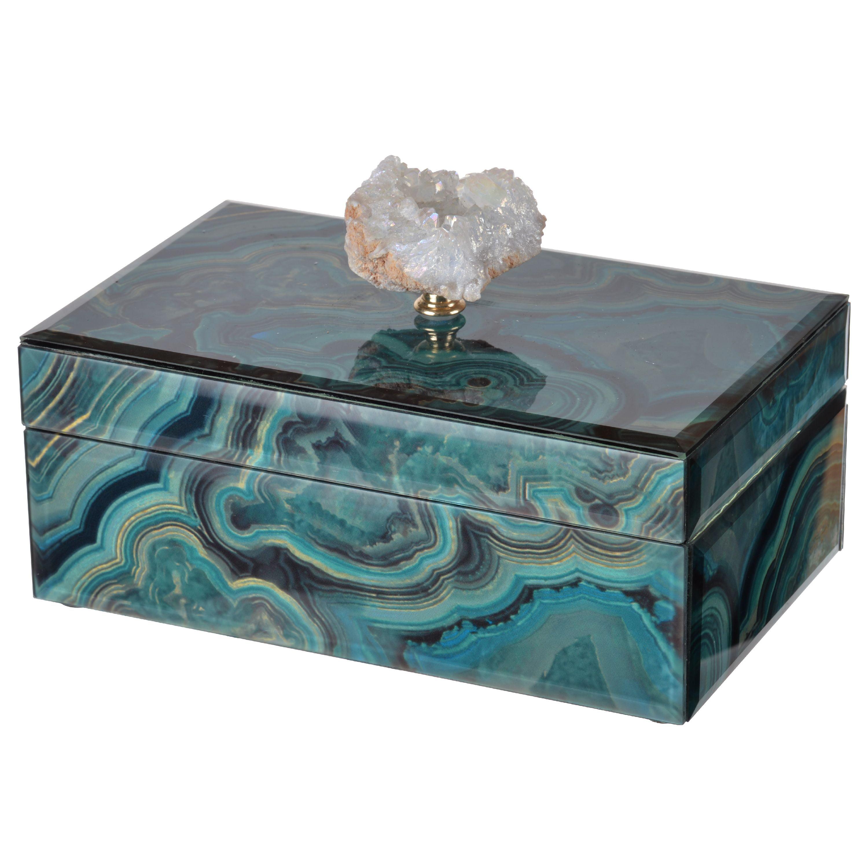 AB Home Bethany Marble Jewelry Box Walmartcom