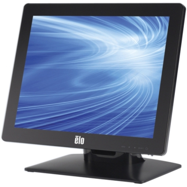 "Elo 1517L 15"" LCD Touchscreen Monitor - 4:3 - 16 ms - Surface Acoustic Wave - 1024 x 768 - XGA-2 - Adjustable Monitor Angle - 16.2 Million Colors - 700:1 - 250 Nit - LED Backlight - USB - VGA - Black"