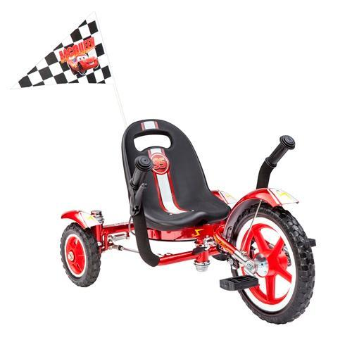 Mobo Total Tot Disney-Pixar Cars Classic Three-Wheeled Cruiser, Red