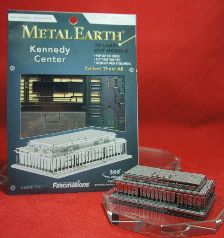 Fascinations Metal Earth Kennedy Center Building 3D Metal Model Kit