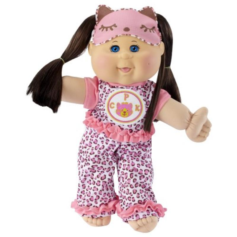 "Cabbage Patch Kids Glow Party: Brunette Hair, Caucasian Girl 14"" Doll by"