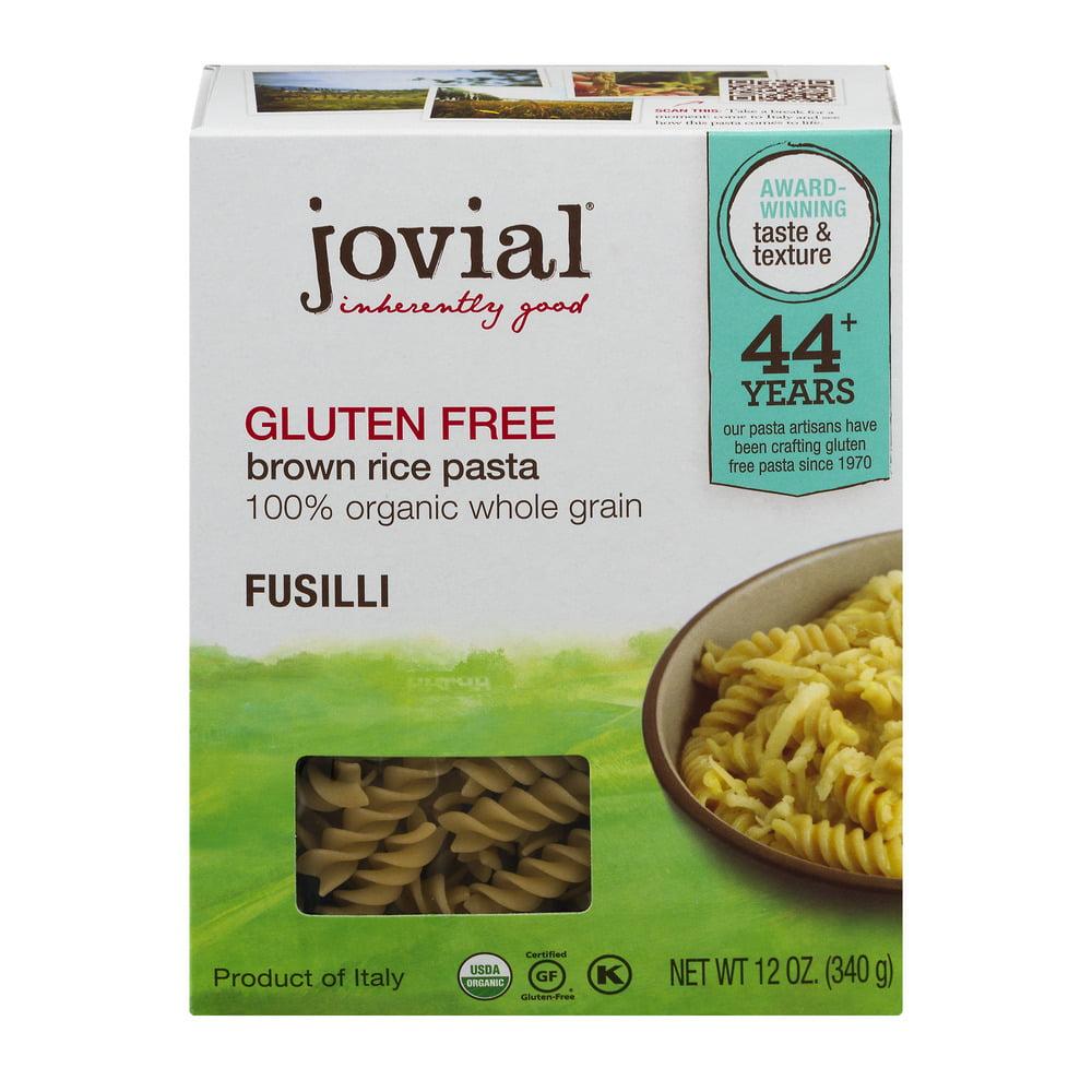 Is rice pasta gluten free