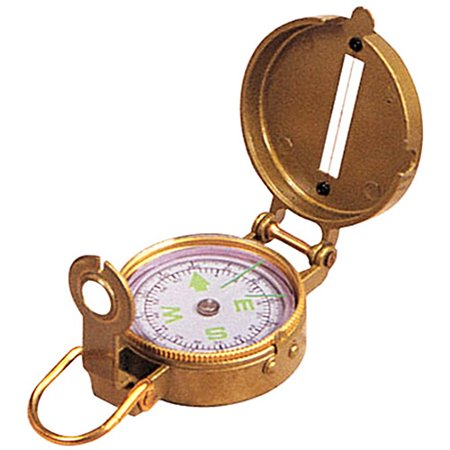 Stansport Liquid Filled Metal Lensatic Compass