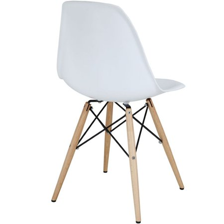 Hawthorne Collection Dining Side Chair in White - image 2 of 3