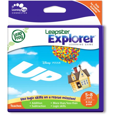 Math Explorer - LeapFrog Leapster Explorer Learning Game: Disney Pixar Up