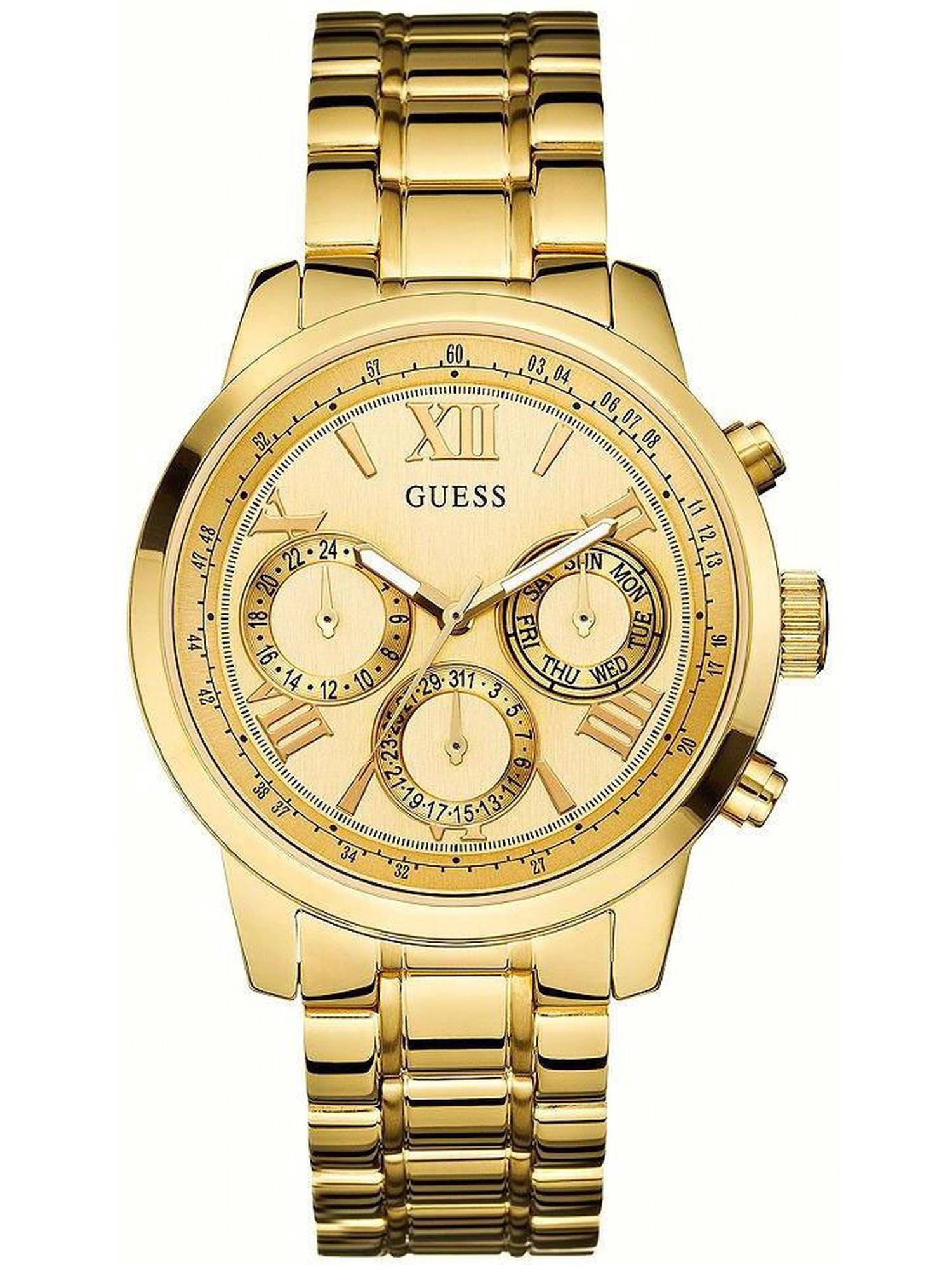 Gold-Tone Multi-Function Ladies Watch U0330L1