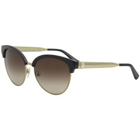 df1786426e Michael Kors - Michael Kors Amalfi MK2057 MK 2057 330513 Black Gold Cat Eye  Sunglasses 56mm - Walmart.com