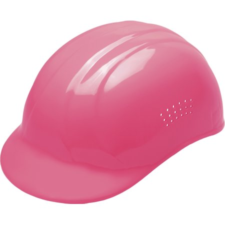 ERB Safety 19115 67 Bump Cap CAP STYLE: 4-POINT PLASTIC SUSPENSION Hi-Viz Pink