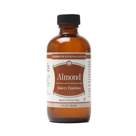 Oil Control Emulsion (Almond Bakery Emulsion Flavor 4 oz Lorann Oils )