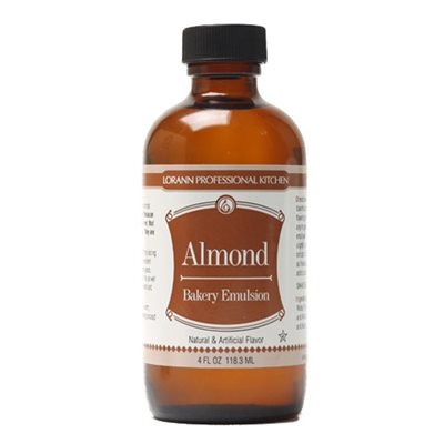 Almond Bakery Emulsion Flavor 4 oz Lorann - Nut Flavor Oil