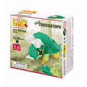 LaQ Dinosaur World - Mini Triceratops LAQ001788 by LaQ Blocks