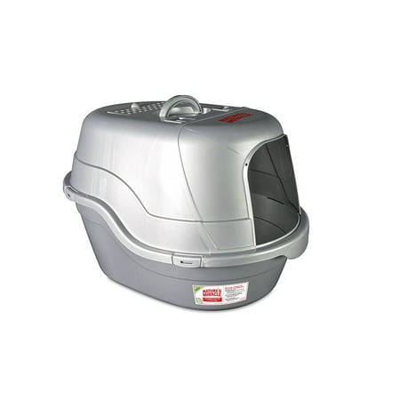 Nature's Miracle Hooded Flip Top Litter Box, With Odor Control Now $15.99 (Was $20.99)