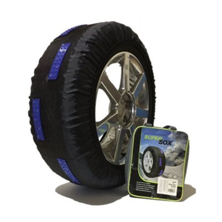 Peerless S58 SuperSox Vehicles/Light Truck Snow Vertical Jogged Strip Pads, Pair - image 2 of 2