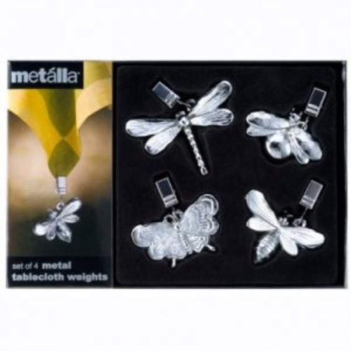 Prodyne Tw10d Garden Dwellers Tablecloth Weights Set Of 4