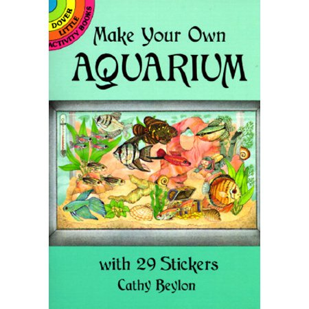 Make Your Own Aquarium with 29 Stickers - Make Your Own Puzzle