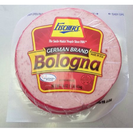 Fischer's German Brand Bologna, 1 Lb  - Walmart com