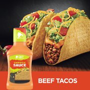 (4 Pack) Taco Bell Bold & Creamy Chipotle Sauce, 8 fl oz Bottle