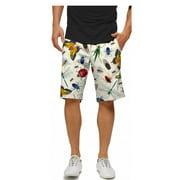 Loudmouth Golf Men's Big Bugs 34 Shorts